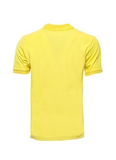 Wessi Erkek Slim Fit Polo Yaka Oxford Tişört Sarı
